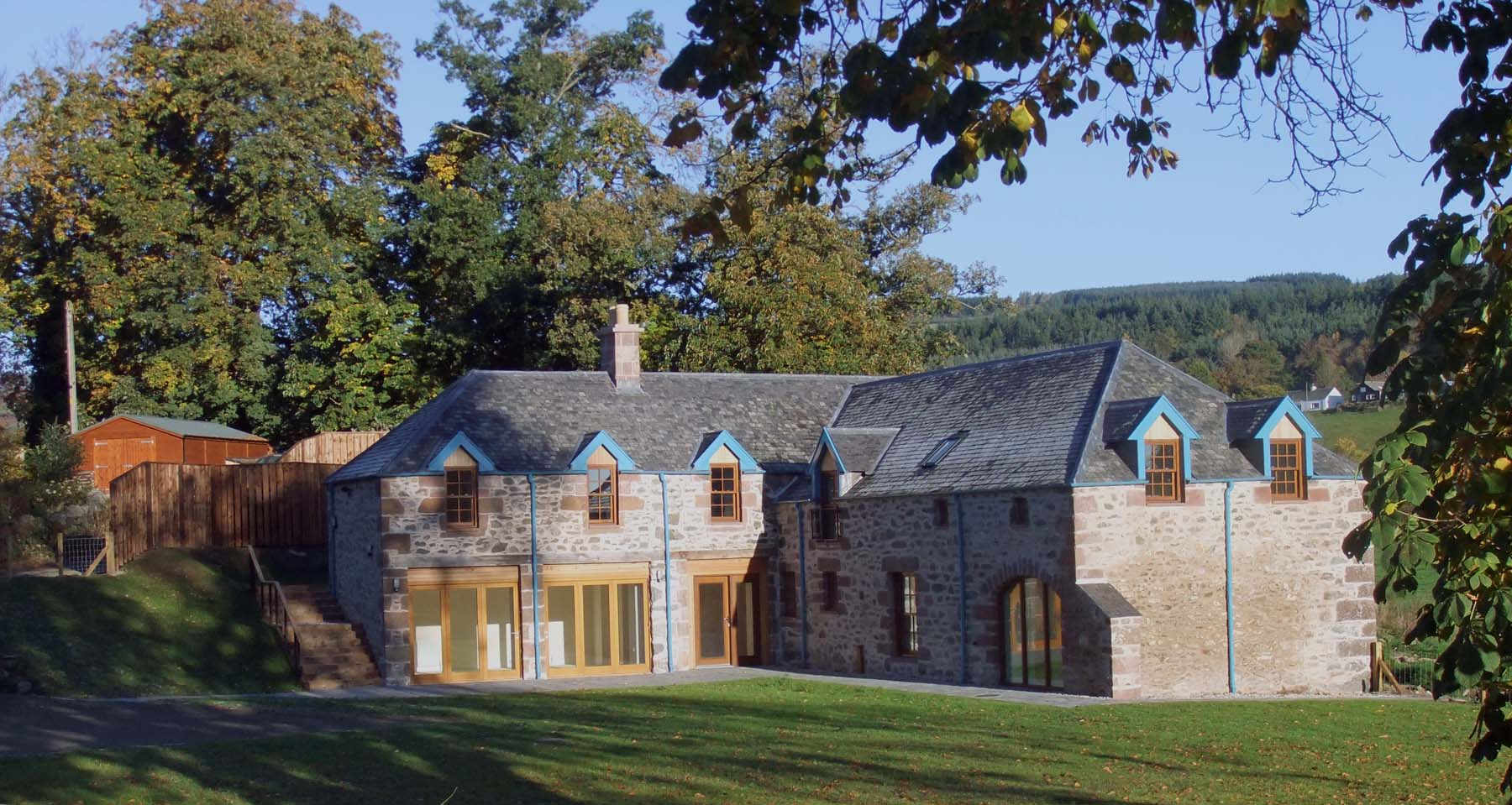Milton of Clunie steading conversion